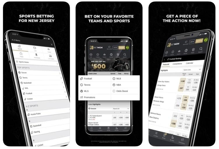 BetMGM Sportsbook Mobile Betting