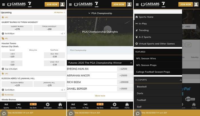 Caesars Online Betting