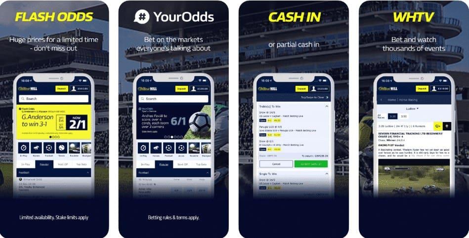 William Hill Sportsbook Betting