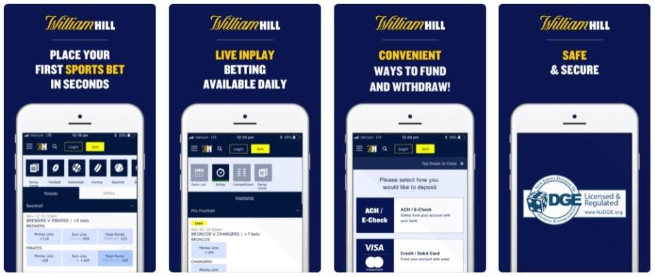 William Hill Sportsbook Online Betting