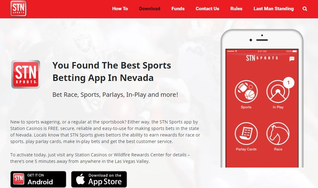 STN Sportsbook Mobile Betting